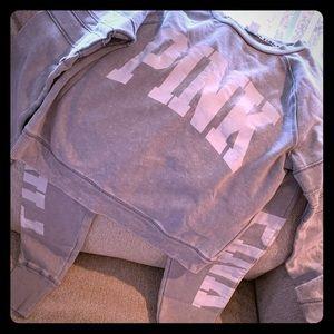 Pink sweatsuit xsmall
